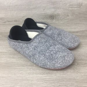 Mahabis Classic Wool Women's Gray Slippers EU 35